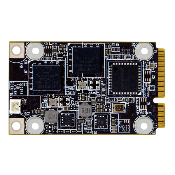 Mustang-MPCIE-MX2 VPU Card front