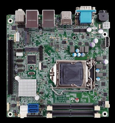 KINO-DH310 | Mini-ITX single board computer with Intel coffee lake CPU