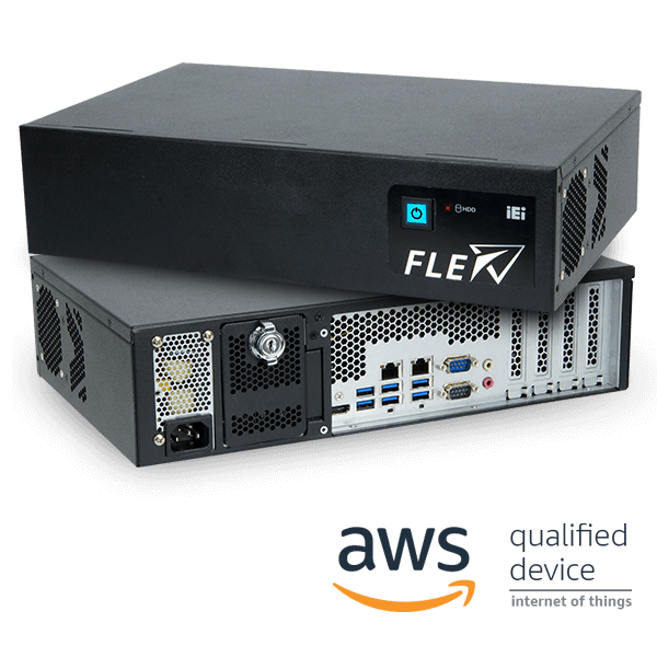 FLEX-BX200-Q370 AI Embedded System with AWS and Microsoft Azure Certified