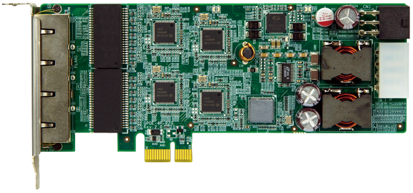 IEI PCI Express Power over Ethernet card GPOE-4P