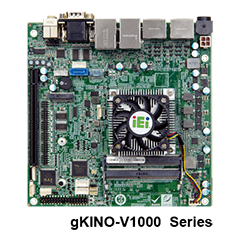IEI gKINO-VR1000 4K High Resolution AMD Industrial Motherboard