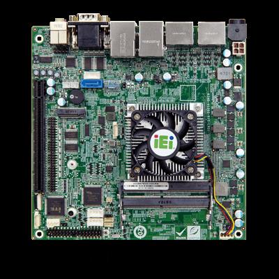IEI gKINO-VR1000 4K 高解析度 AMD 工業用主機板
