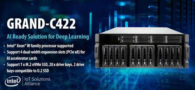 GRAND-C422 ai training server