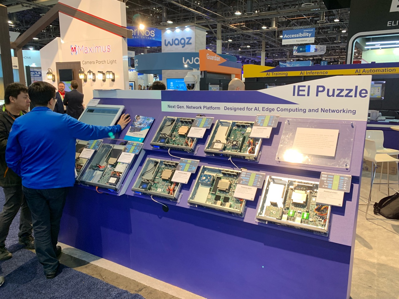 CES 2019: IEI Shows AMD® EPYC 3000 Series Based Network