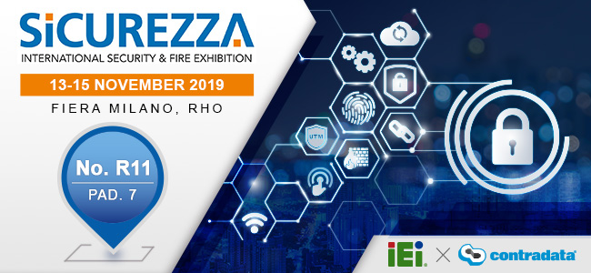 IEI Welcomes Your Visiting to Sicurezza 2019 in Italy