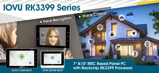 IOVU-207AR-RK39 Risc-based panel pc