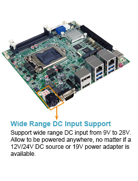 Iei Launches Kino Dh110 Mini Itx Sbc Supports Intel 6th 7th