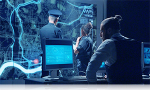 Police Station Network Firewall
