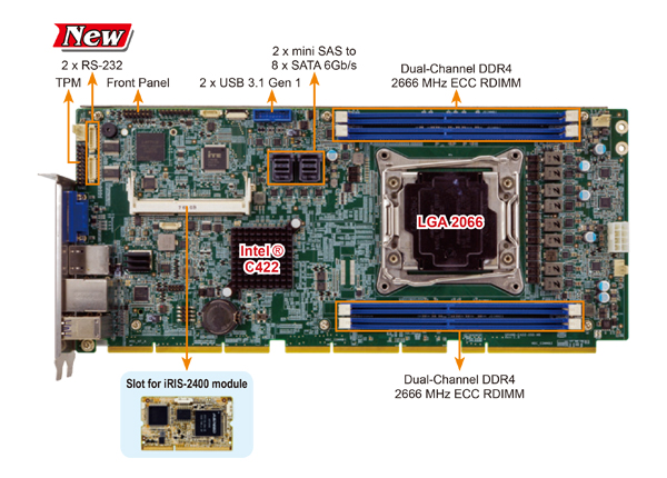 PEMUX-XEW1 CPU card product image