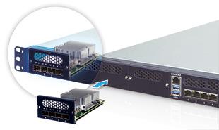 PulM Network Module Slot