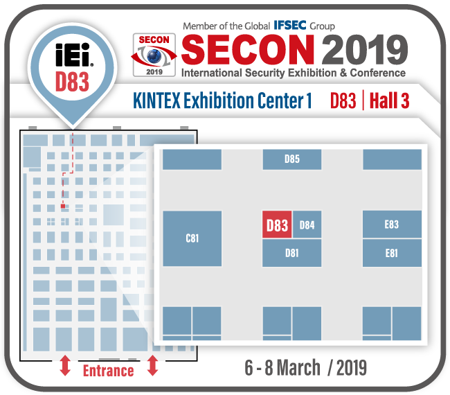 SECON 2019 Map
