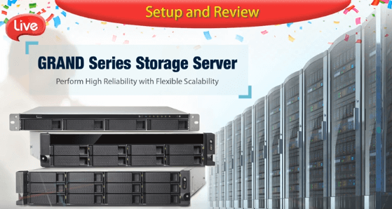 Grand Series Storage Server Introduction Video