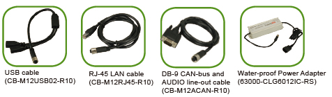 UPC-F12C-panel-pc-Optional-Cables-and-Adapter