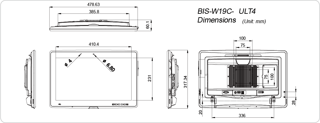 medical-panel-pc-dimensions