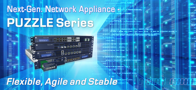 puzzle network appliance PR banner