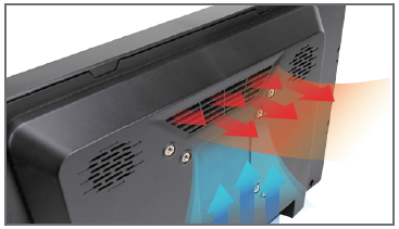 Fanless Design industrial touch panel PC