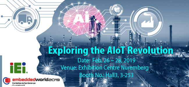 IEI AIoT Embedded World